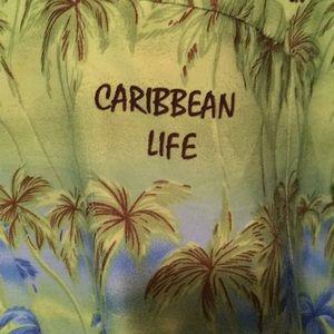 Shirts - Men's RIMA shirt XL short sleeve Caribbean Life